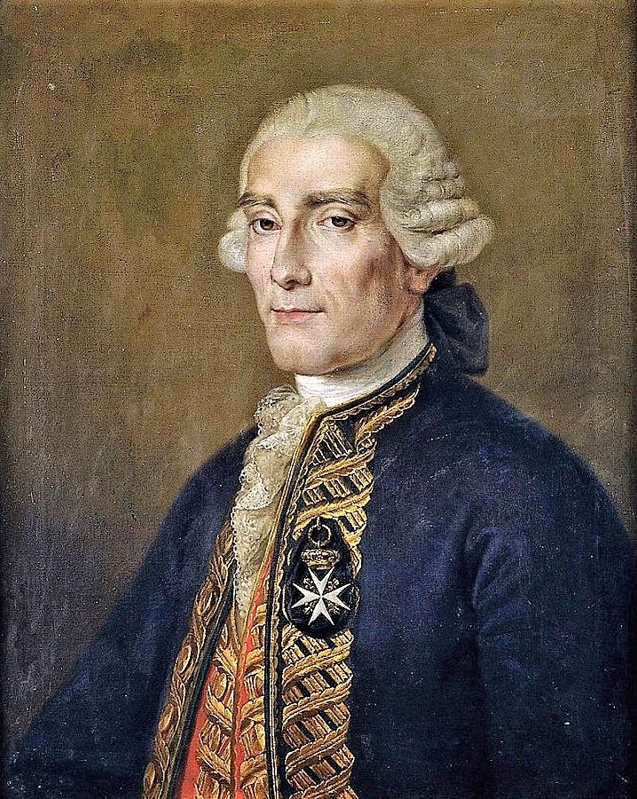 Retrato de Jorge Juan y Santacilia, obra de Rafael Tejeo. WIKIPEDIA