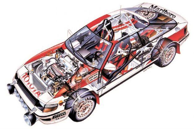 Toyota Celica GTCuatro de 1989, de Carlos Sainz y Luis Moya