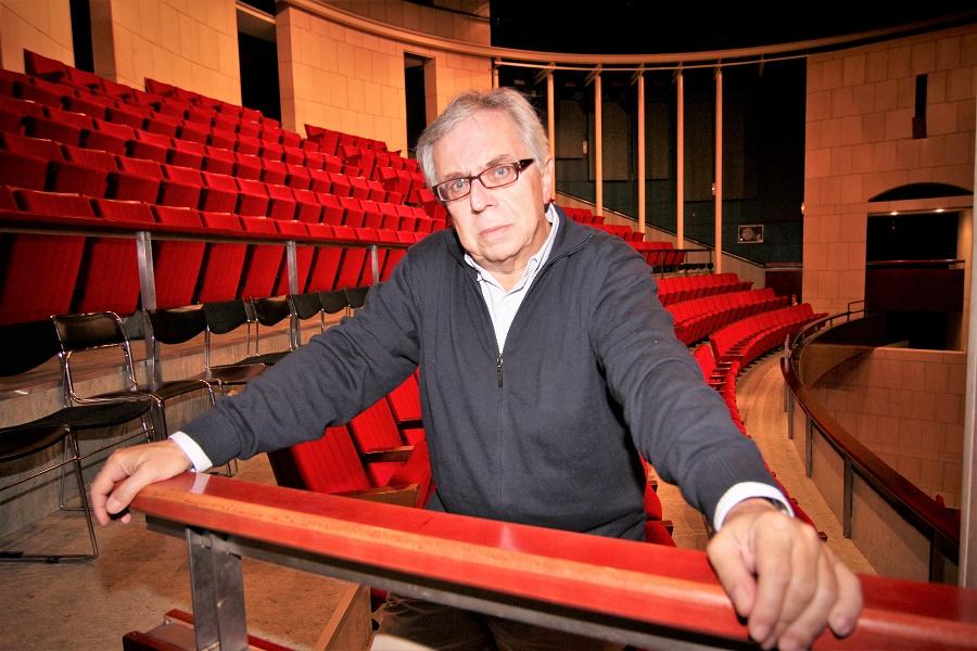 El gran dramaturgo Miguel Murillo, autor de la obra. SANTI