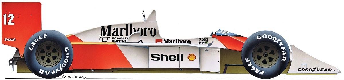 McLaren MP4-4 Honda 88-2b