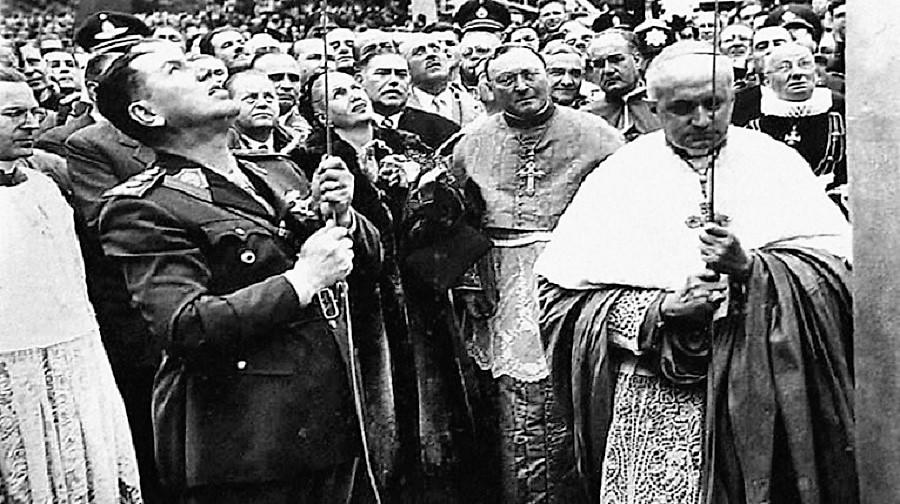 Perón y la Iglesia.