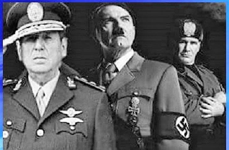 Perón y otros dictadores.
