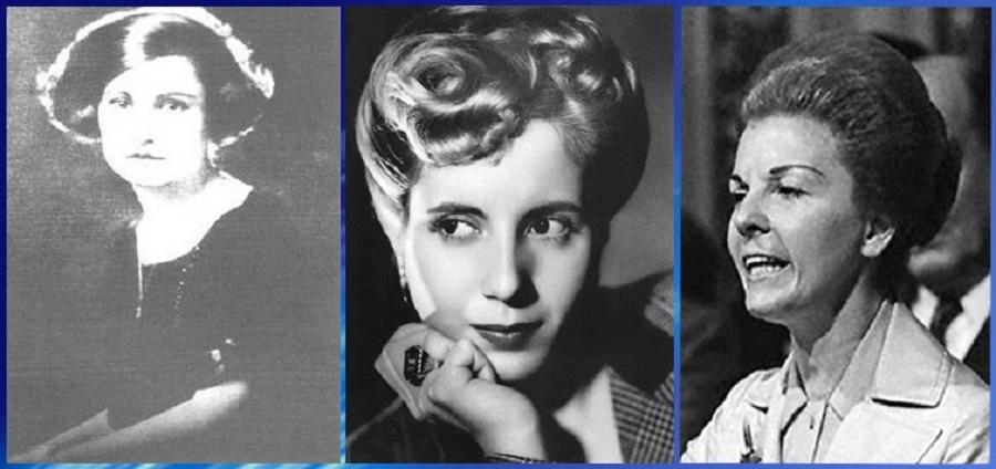 Potota, Evita, Isabelita.