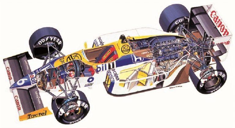 Williams FV11 Honda de 1986