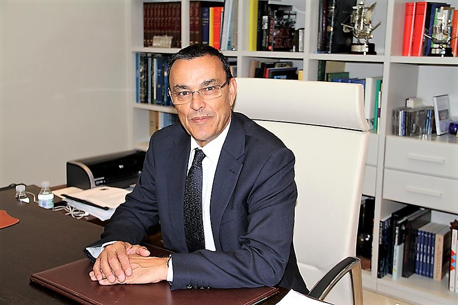 El presidente de la Diputación de Huelva, cuñado y protector de Mario Jiménez. DIPHUELVA