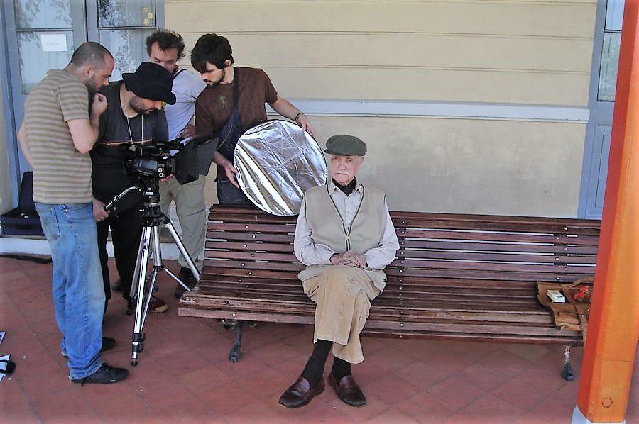 Don José estuvo vinculado con el cine desde niño.