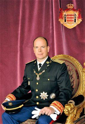 El Príncipe Alberto II en la foto oficial. PRINCIPADO DE MÓNACO