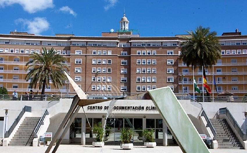 Hospital Virgen del Rocío, donde ya ha muerto una mujer. ANDALUCÍA MÉDICA