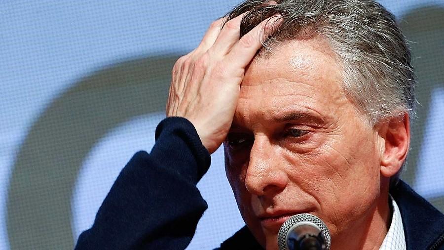 Macri, derrotado. RTVE