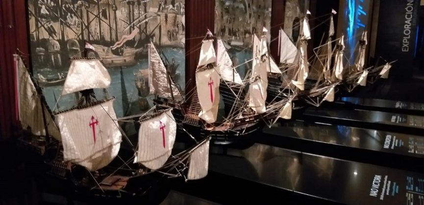 De las cinco naves solo regresó una. J.M. PAGADOR