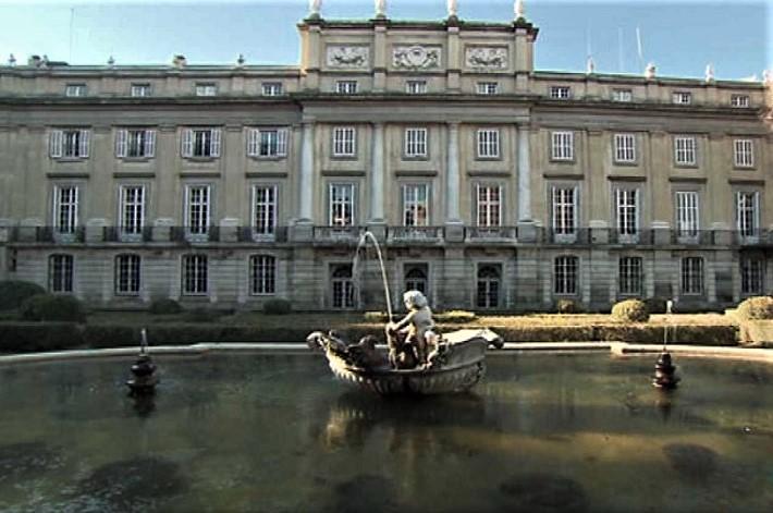 El Palacio de Liria es el domicilio particular más grande de Madrid.