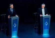 El último debate entre Macri y Fernández. INFOBAE