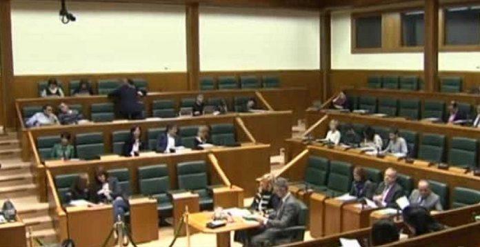 El Parlamento Vasco rechaza el extremismo. RTVE