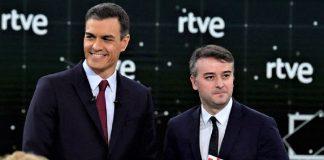 El presidente y su gurú, que sigue poniendo al PSOE boca abajo. RTVE