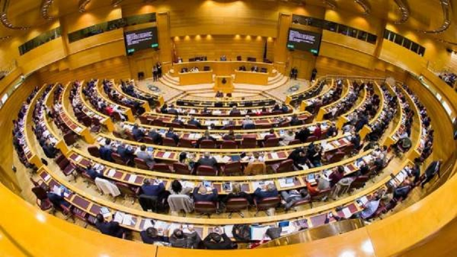 El PSOE ha perdido la mayoría absoluta en el Senado, lo que dificulta el 155. SENADO
