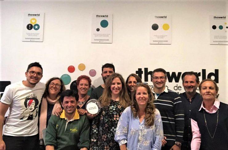 Miembros del equipo de profesores de innovación educativa en los institutos de Extremadura.