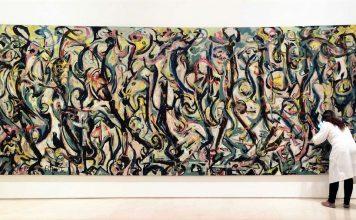Mural de Jackson Pollock. RTVE