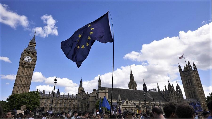 Las manifestaciones antibrexit han sido masivas y constantes en Reino Unido.