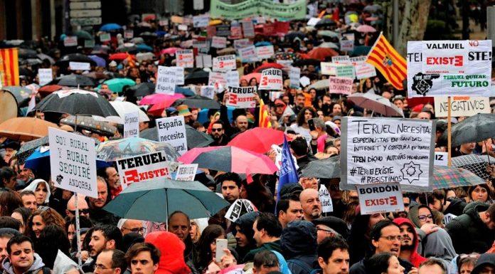 Manifestación en Madrid contra la España vaciada, una forma de resistencia. RTVE