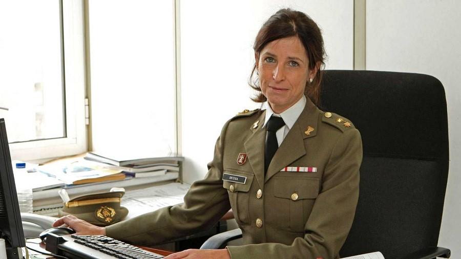 Patricia Ortega García, primera mujer general de las Fuerzas Armadas españolas y una de las primeras del mundo. RTVE.