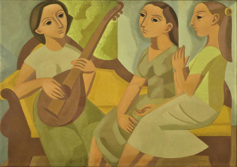 El diván amarillo. Norah Borges.