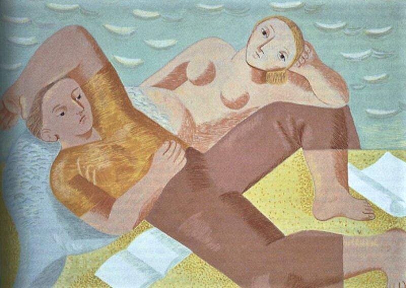 El marinero y la sirena. Norah Borges.