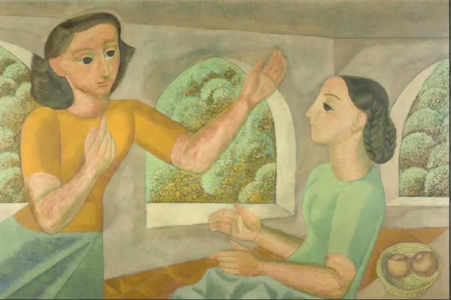La Anunciación. Norah Borges.