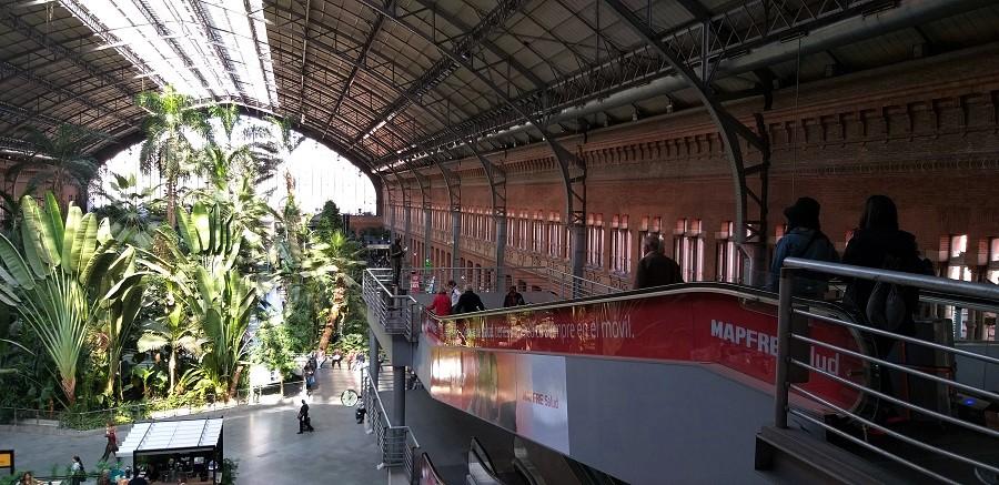 Todo a nuestro alrededor es diseño. En la imagen, la estación madrileña de Atocha. PAGADOR-PROPRONews