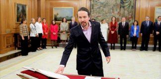 Y después de tanto republicanismo, prometió lealtad al Rey. RTVE