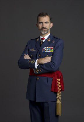 El rey, con el uniforme del Ejército del Aire. CASA REAL