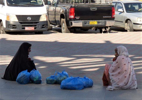 Mujeres en Mascate, la capital de Omán. J.M. PAGADORMujeres en Mascate, la capital de Omán. J.M. PAGADOR