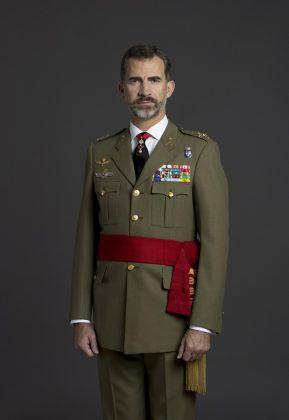 El rey, con el uniforme del Ejército de Tierra. CASA REAL
