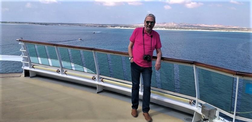 J. M. Pagador, navegando por el Golfo Pérsico. PROPRONews