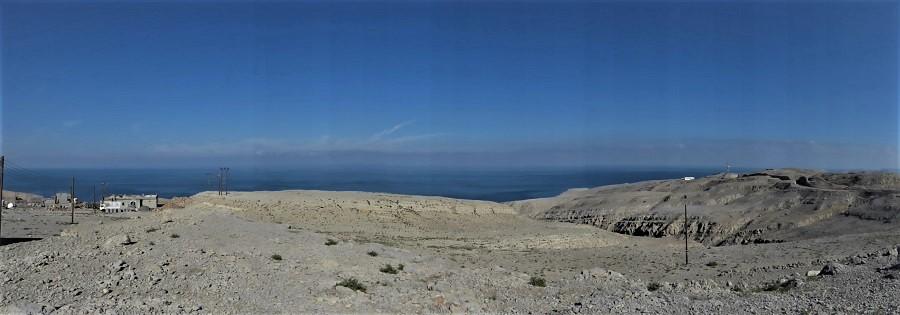 Límite septentrional de la península de Musandam, en el estrecho de Ormuz. La otra orilla es Irán. J.M. PAGADOR