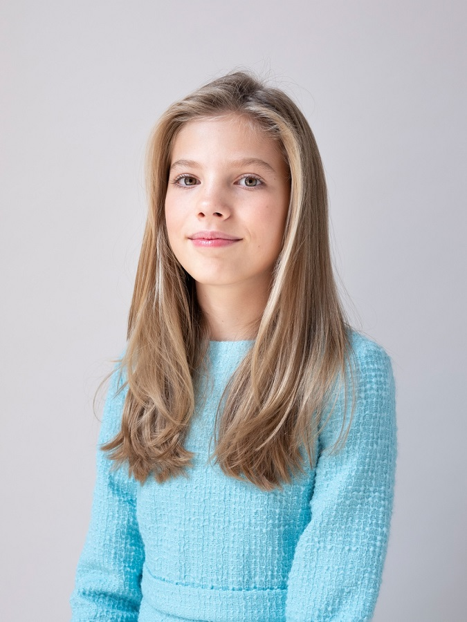 La infanta Sofía. CASA REAL