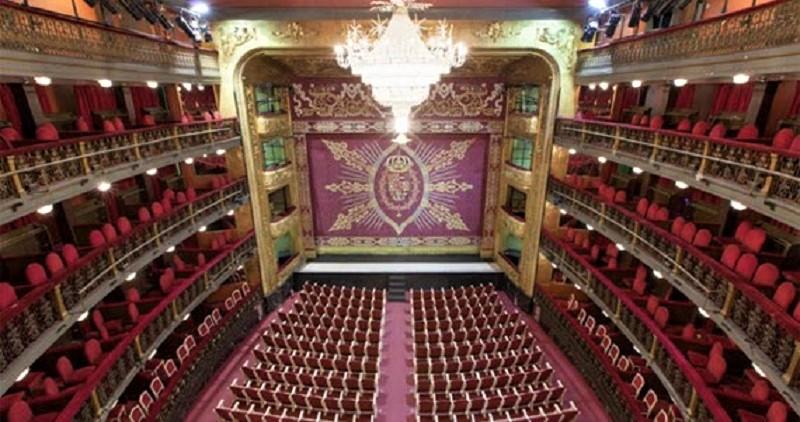Sala principal del Teatro Español, donde se representa el espectáculo. TEATRO ESPAÑOL.