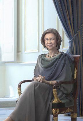 La reina Sofía. CASA REAL