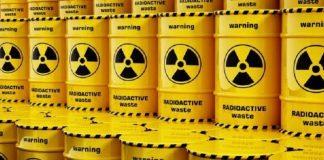 Basura radioactiva.
