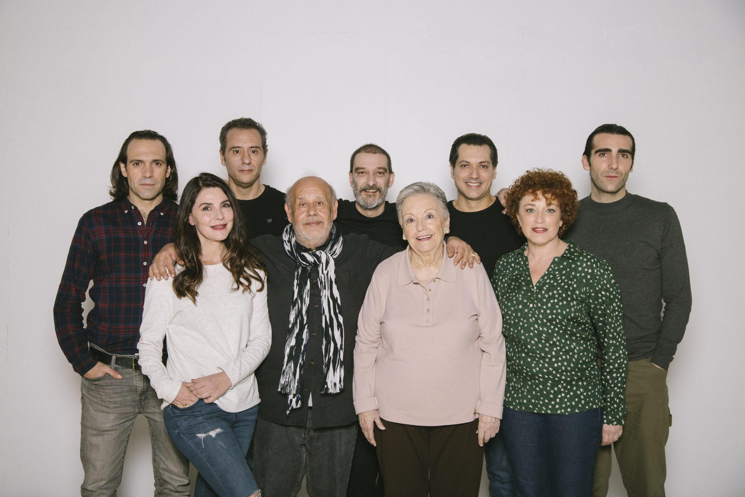 El elenco del espectáculo.