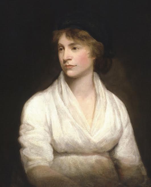 Mary Wollstonecraft, madre de la creadora de Frankenstein.