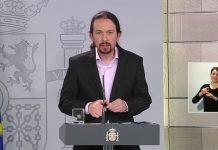 Pablo Iglesias, apoyó en esta rueda de prensa la fallida cacerolada al rey. RTVE
