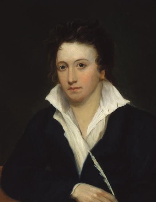 Percy B. Shelley, el marido de Mary Shelley.