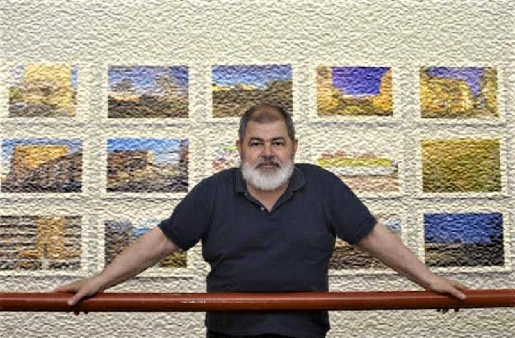 Cefe López inmerso en el Papel Sensible, su actual proyecto fotográfico. J.M. ROMERO