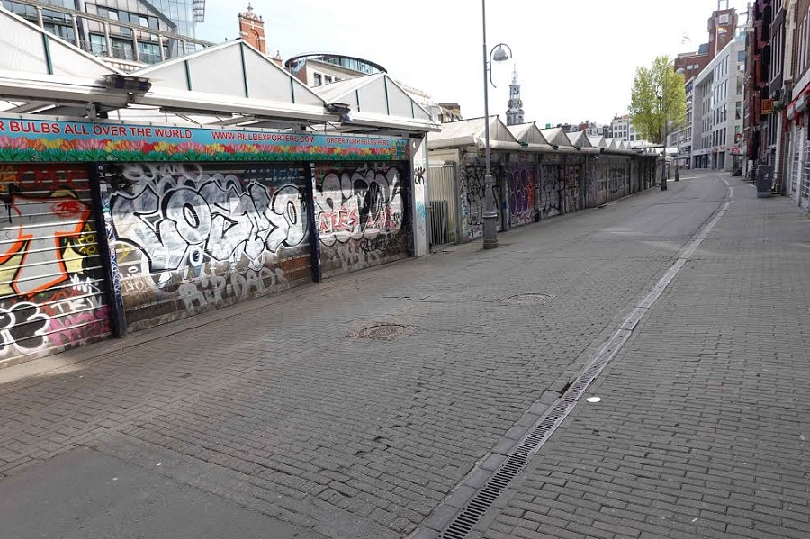 El Mercado de las Flores, cerrado. CHEMA BUENECHEA