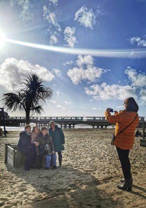 Playa de Bournemouth un día de sol. ELISA BLÁZQUEZ