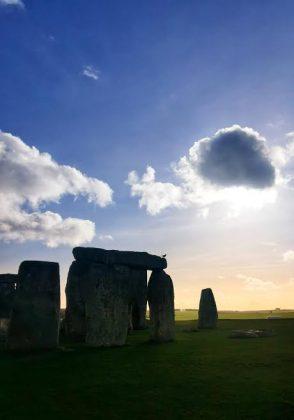 Stonehenge al atardecer. ELISA BLÁZQUEZ