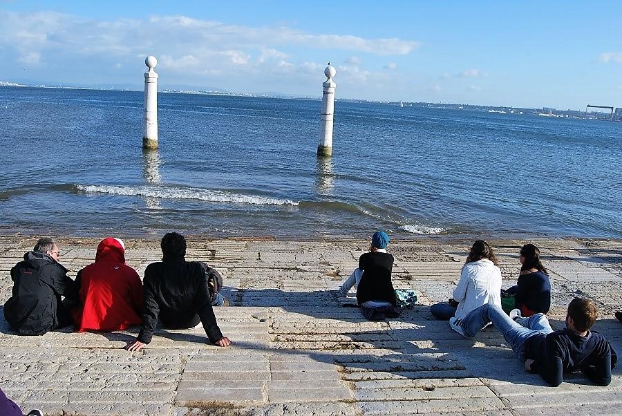 Cais das Colunas (Lisboa). J.M. PAGADOR