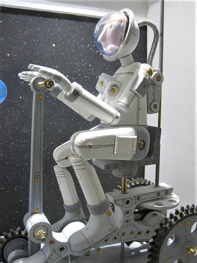 La robótica es imparable. Escultura de Keith Newstead. J.M.PAGADOR
