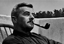 William Faulkner, cumbre de la literatura norteamericana.