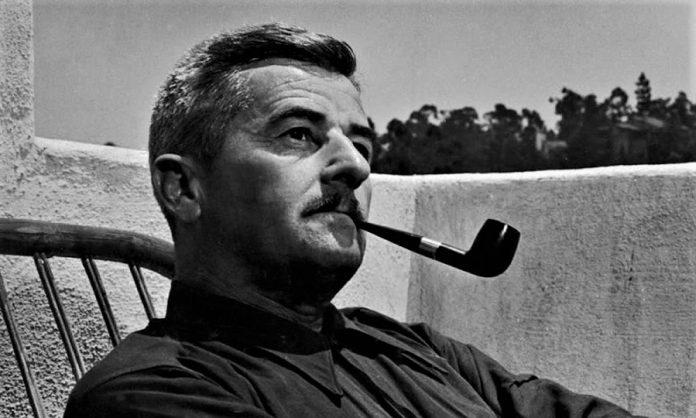 William Faulkner, cumbre de la literatura norteamericana.